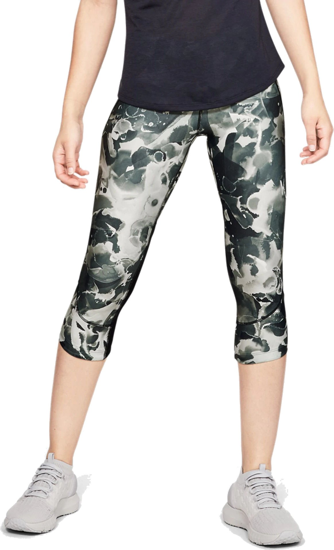 Under Armour Armour Fly Fast Printed Capri-GRY 3/4-es nadrágok