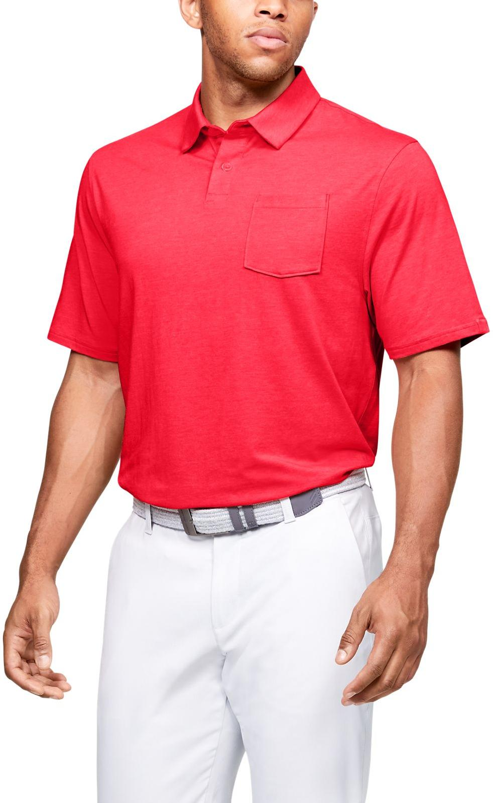 Under Armour Charged Cotton Scramble Polo Rövid ujjú póló