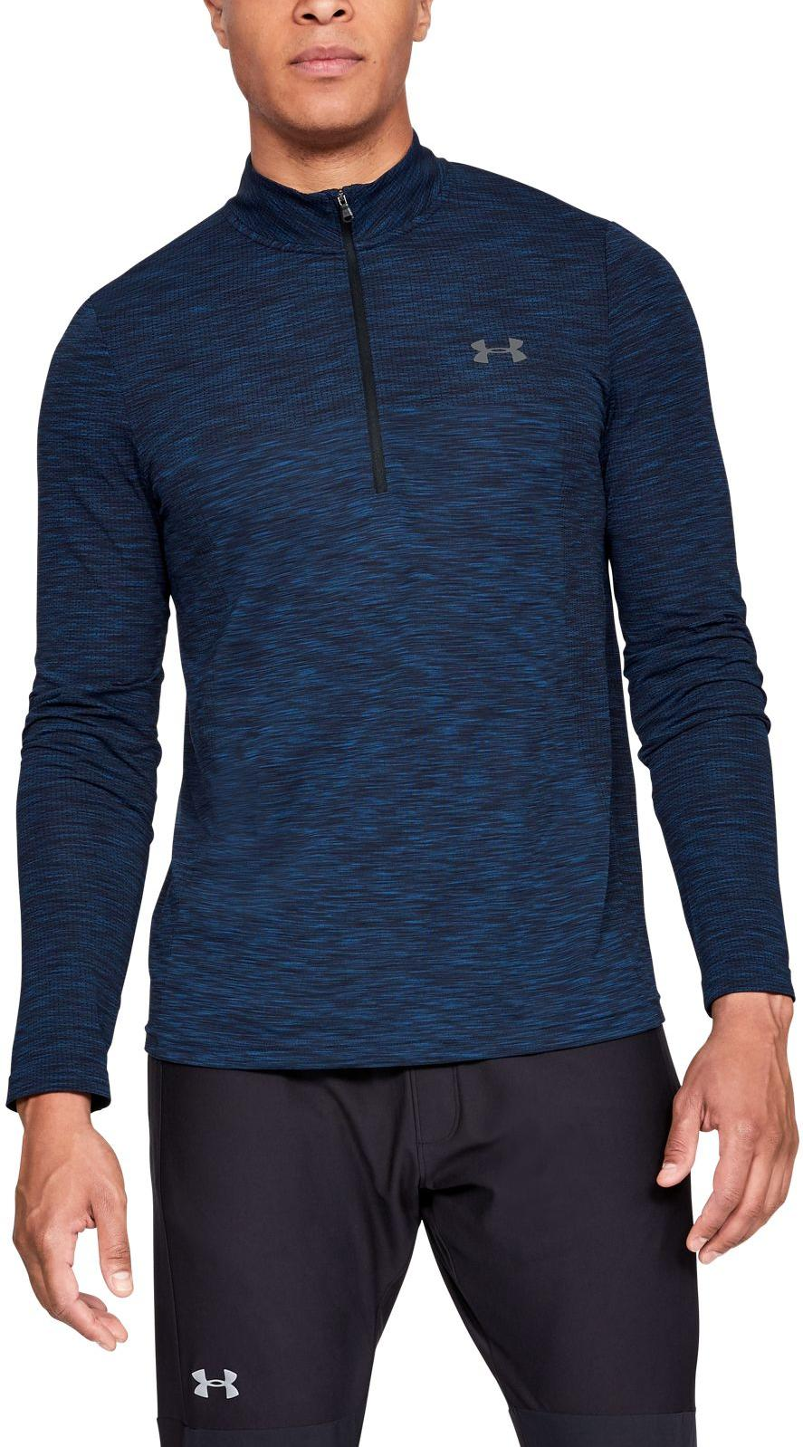 Under Armour Vanish Seamless 1/2 Zip Hosszú ujjú póló