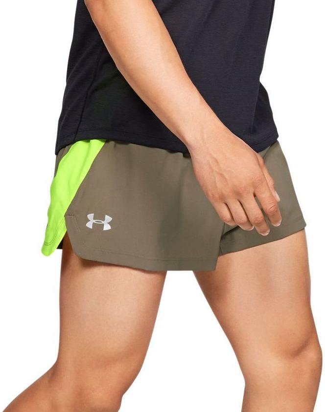 Under Armour UA LAUNCH SW SPLIT SHORT Rövidnadrág