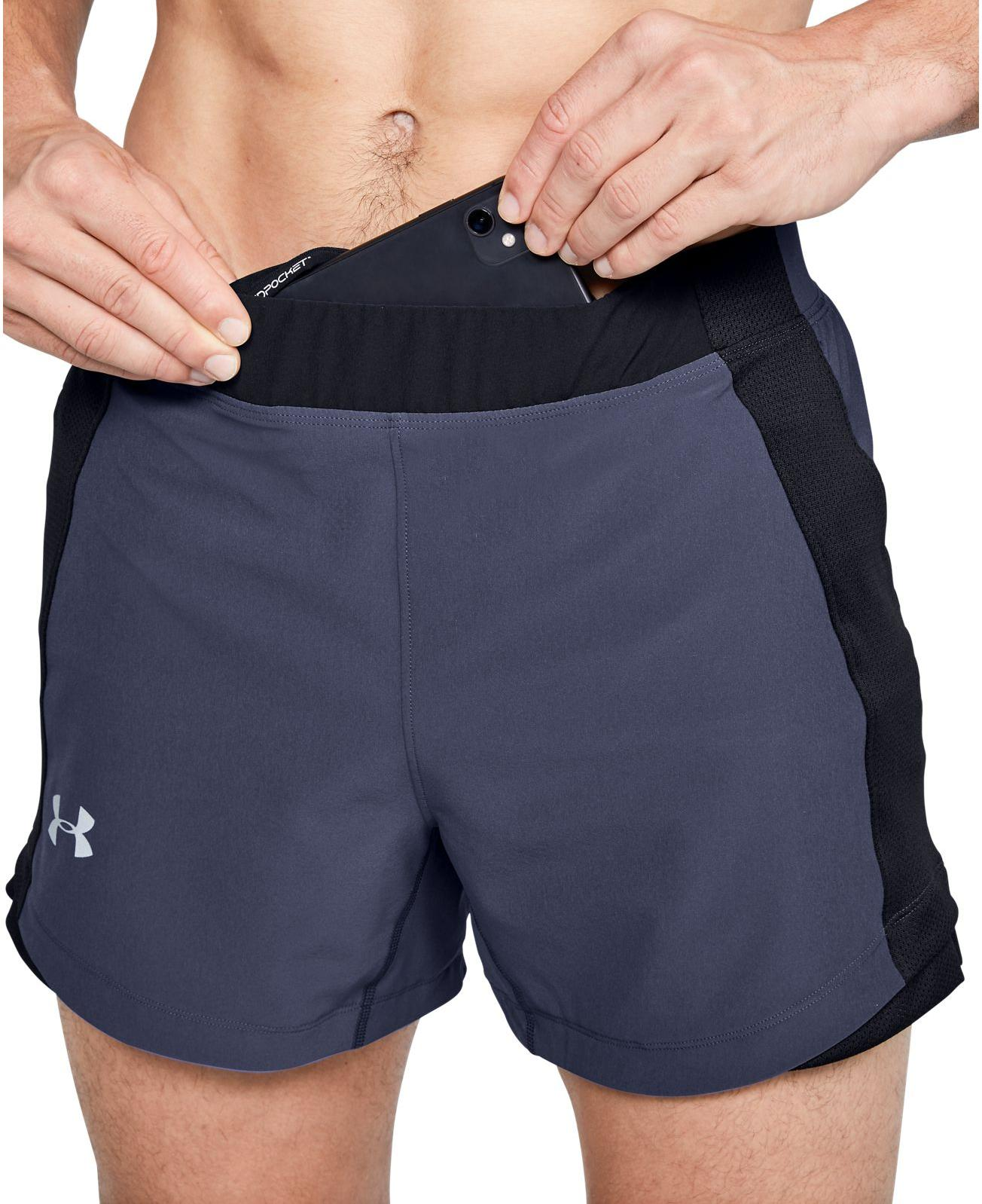 Under Armour UA QUALIFIER SPEEDPOCKET 5 SHORT Rövidnadrág