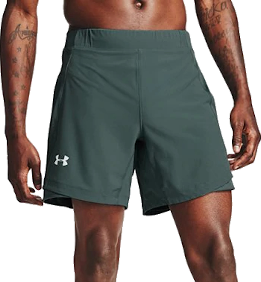 Under Armour UA QUALIFIER SPEEDPOCKET 7 SHORT Rövidnadrág