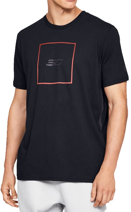 Under Armour SC30 BOX LOGO TEE Rövid ujjú póló