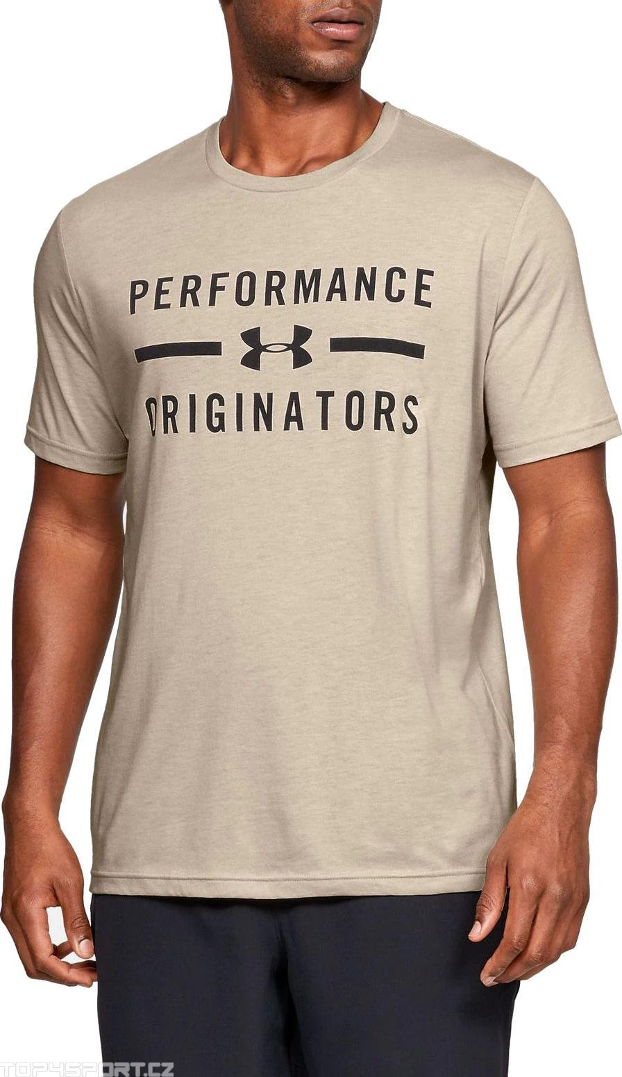 Under Armour UA PERFORMANCE ORIGINATORS SS-BRN Rövid ujjú póló
