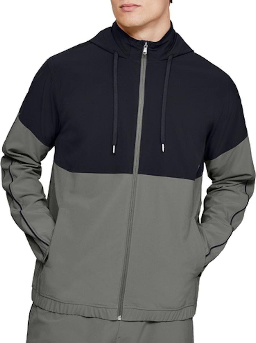 Under Armour Athlete Recovery Woven Warm Up Top Kapucnis melegítő felsők